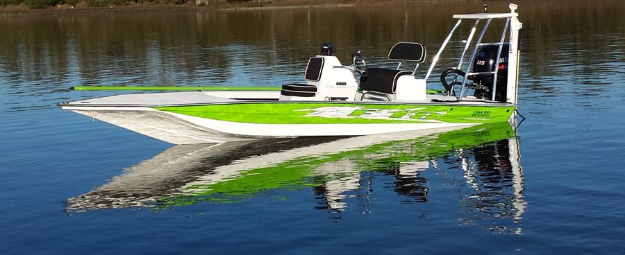 Long bay creek boat